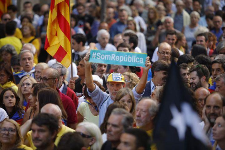 La tensión se dispara en Cataluña