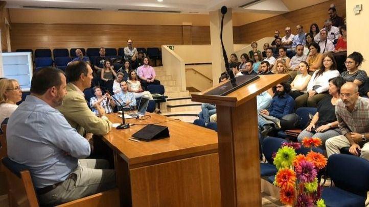 La sesión inaugural consistió en una lección magistral desarrollada por Miguel Álava, director general de Amazon Web Services.