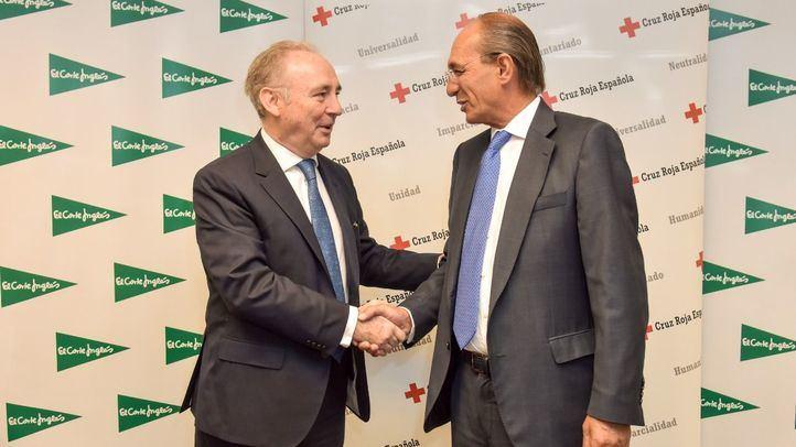 El Corte Inglés y Cruz Roja se unen para desarrollar proyectos de carácter social