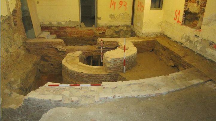 Restos descubiertos en la Casa de la Villa.