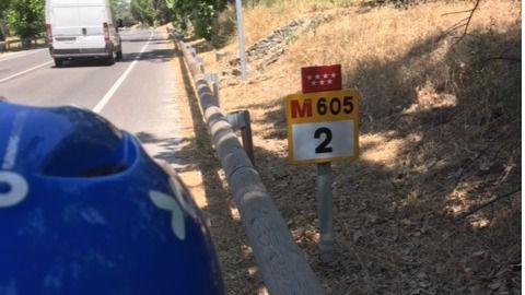 Un carril bici desde El Pardo al anillo verde de Madrid