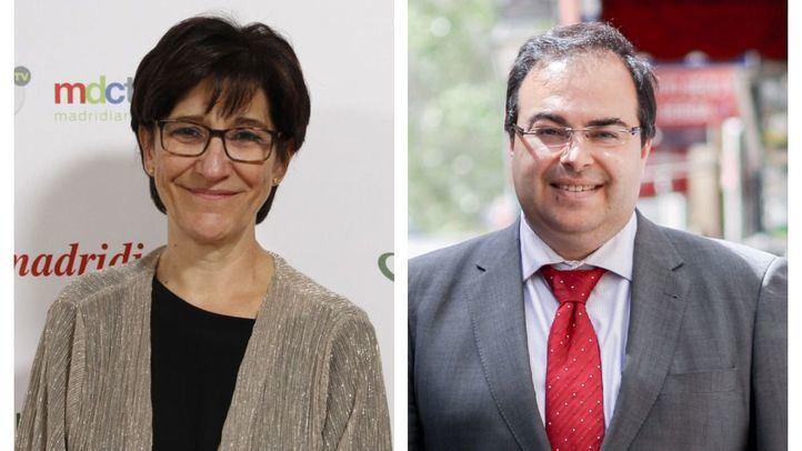 Susana Pérez y Santiago Llorente.