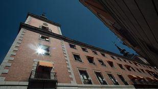 Actual palacio de Santa Cruz, sede del ministerio de Asuntos Exteriores, antiguamente Cárcel de las Cortes.