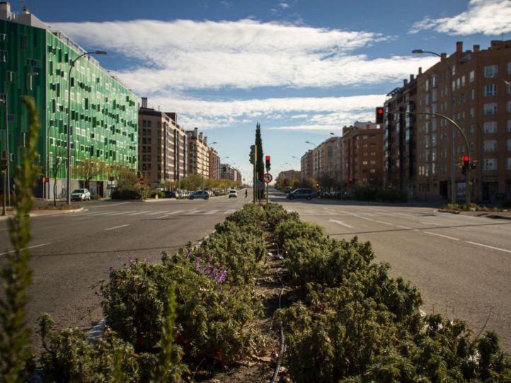 Ensanche de Vallecas estrenará nuevo polideportivo y parque
