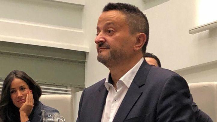 Pedro Barrero durante su toma de posesión como concejal.