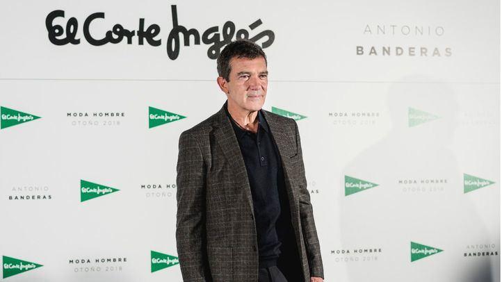 Antonio Banderas, protagonista de la campaña de moda masculina de El Corte Inglés
