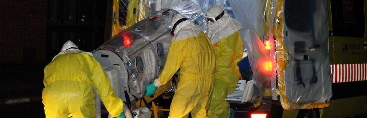 España tiembla con la llegada del ébola