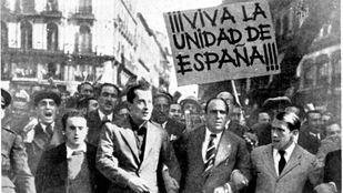 Cuando Primo de Rivera pedía la 'unidad de España' en Sol