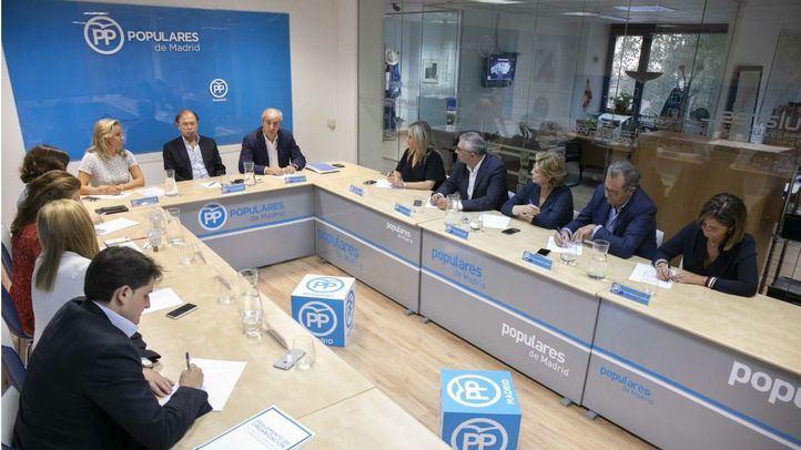 Reunión del Comité Ejecutivo Regional del PP de Madrid.