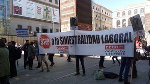 Los sindicatos reclaman más medidas para evitar los accidentes laborales mortales