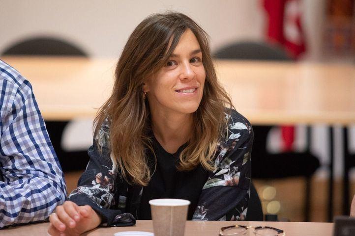 En la imagen, María Acín, sustituta como diputada de Lorena Ruiz-Huerta en la Asamblea de Madrid.