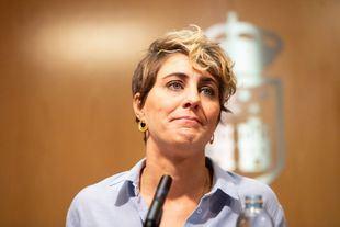 Dimite Lorena Ruiz-Huerta, portavoz de Podemos en la Asamblea