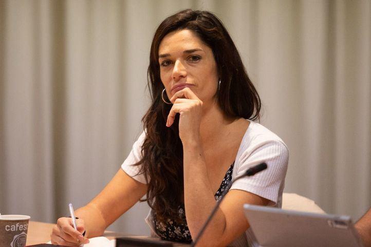 Clara Serra, nueva portavoz de Podemos en la Asamblea de Madrid.
