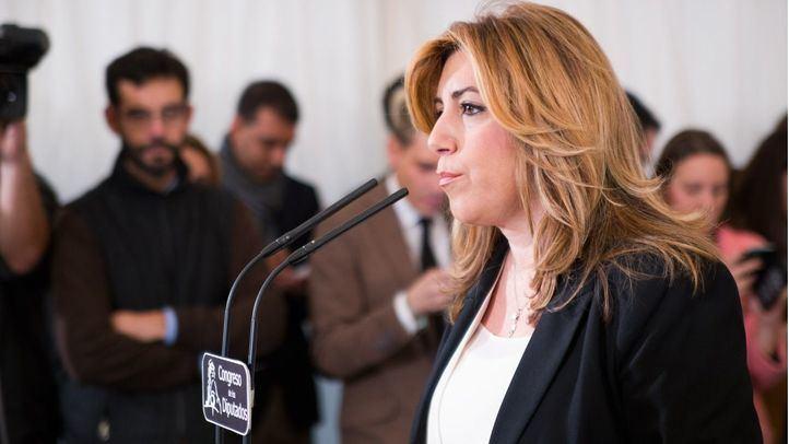Susana Díaz, presidenta de la Junta de Andalucía por el PSOE.