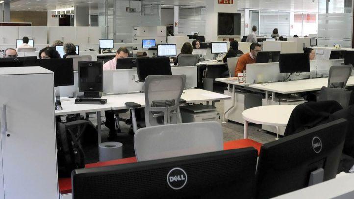Imagen de archivo de una oficina de Madrid