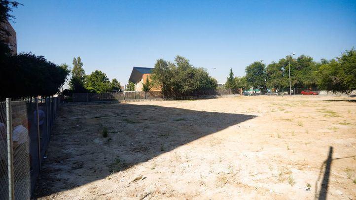 La parcela de Téllez 2 ha sido objeto de polémica entre los vecinos y la Junta Municipal de Retiro.