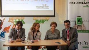 De izquierda a derecha, Vicente Alcañiz, Nieves Rey, Rosa María Romos e Ismael Sanz.