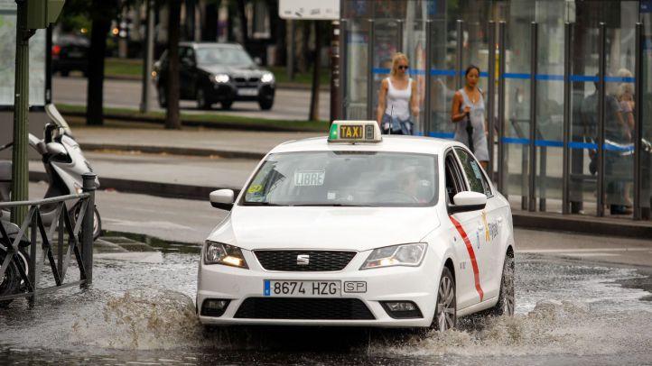 Previsión de atascos por la lluvia: hándicap para el tráfico