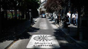 La entrada en vigor de Madrid Central está prevista para el 23 de noviembre.