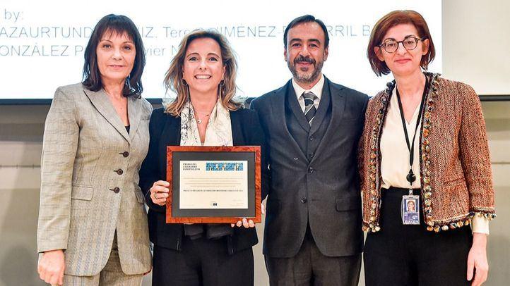 Sylvie Guillaume, Nieves Segovia, Ignacio Sell y Maite Pagazaurtundúa.
