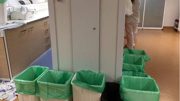 La rotura de una tubería en un pasillo de La Paz obliga a cerrar cuatro de los seis quirófanos del área infantil.