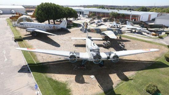 El exterior del Museo del Aire.