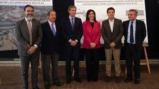 Los alcaldes del noroeste se reúnen para el soterramiento de la glorieta de la M-503