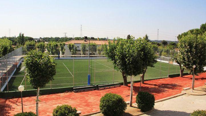 Campo de fútbol del colegio