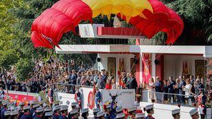 El foco en Cataluña y el desfile en Madrid, el primero de Garrido