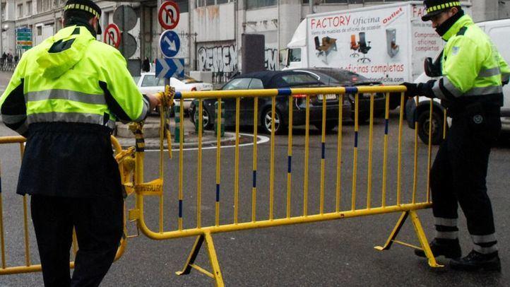 Cortes de tráfico y líneas de la EMT afectadas