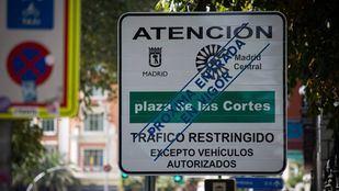 Madrid Central ultima su señalización
