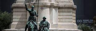 El universo Cervantes toma la Plaza de España