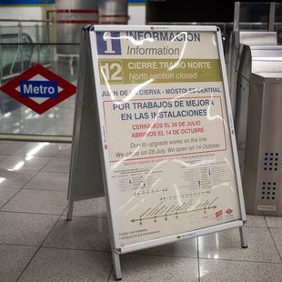 Metrosur reabre su tramo en obras este domingo