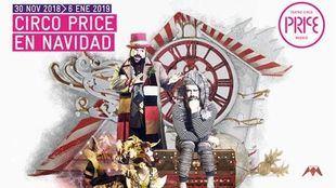 Circo y góspel para celebrar la Navidad en el Circo Price
