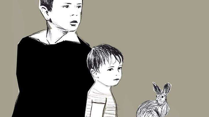 Ilustración de la muestra 'Patria común. Delibes ilustrado'.