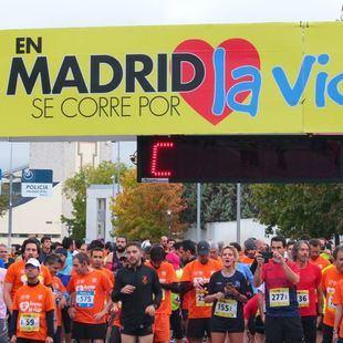 La salud cardíaca, motivo de 'En Madrid se corre por la vida'