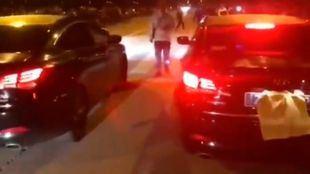 Un vídeo de una carrera ilegal entre dos VTCs ha circulado durante los últimos días en redes sociales