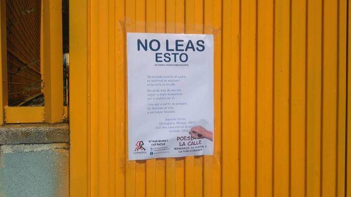 Poesía en las calles de Las Rozas.