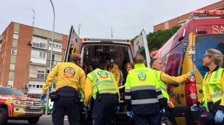 Un atropello en el barrio del Pilar deja dos heridos