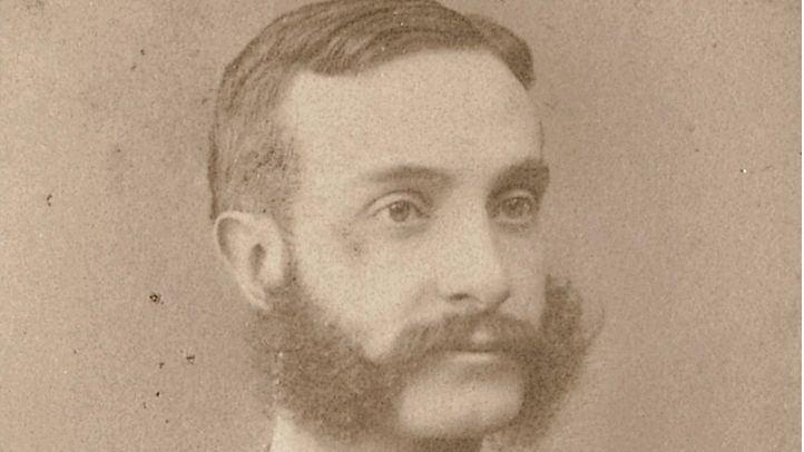 El rey Alfonso XII.