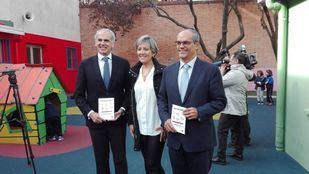 Los consejeros de Sanidad y Educación de la Comunidad de Madrid, Enrique Ruiz Escudero y Rafael van Grieken.