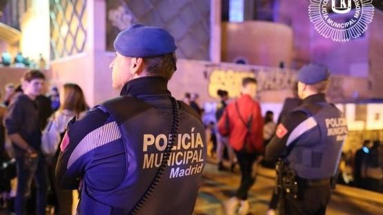 El arresto se produjo en la calle Almansa.