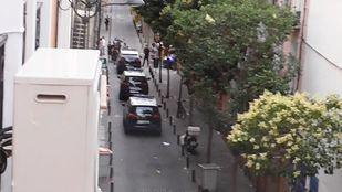 La vigilancia policial se ha incrementado en la zona.