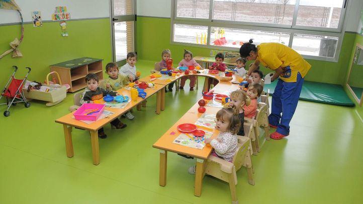 Aula de una escuela infantil municipal.