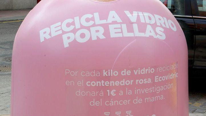Alcobendas vuelve a participar en la campaña 'Recicla vidrio por ellas'