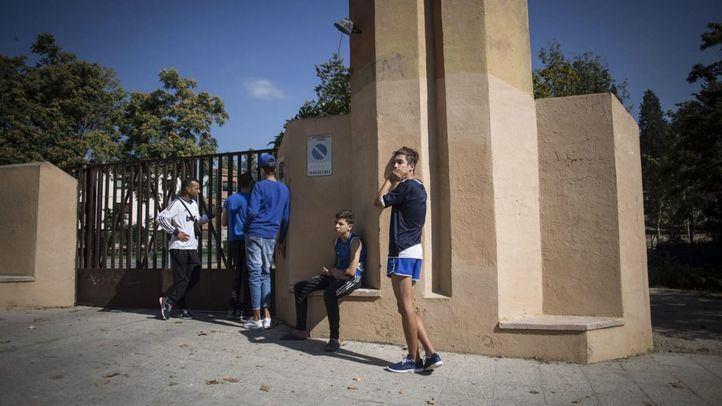 Menores extranjeros no acompañados en Hortaleza.