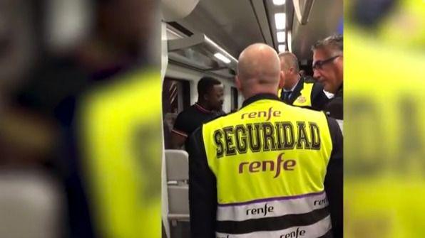 Renfe descarta racismo en la agresión a un pasajero negro