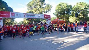 La carrera solidaria 'Corre por el niño' en 2017