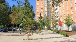La rehabilitación de las zonas verdes de Ciudad Pegaso finalizará en diciembre