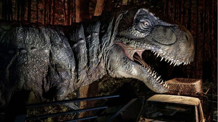Los dinosaurios de Jurassic World escapan a Madrid